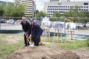 Constitution Place Sod Turn