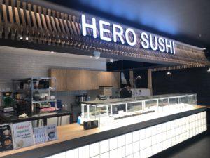 Hero Sushi opens